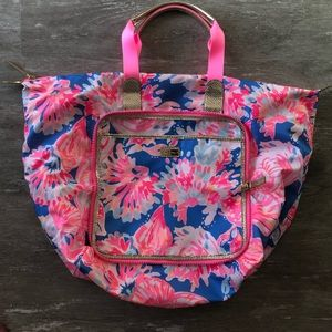 NWOT Lilly Pulitzer Wanderlust Packable Tote
